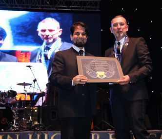 The Dean of Architecture received Honorary Award