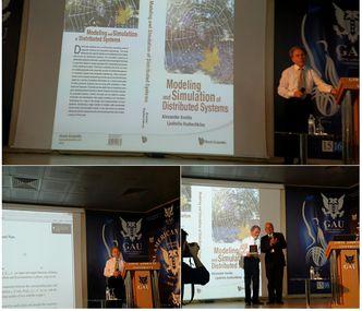 First Keynote Speaker Prof. Dr. Alexander Kostin gave his speech.