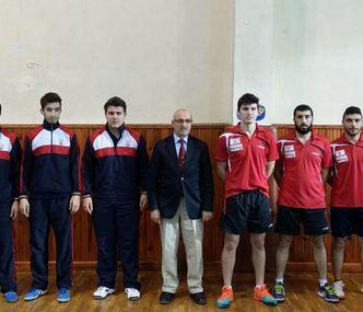 GAU Table Tennis Team As Unrivaled in Turkey