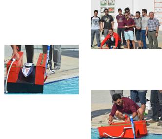 Öğrencilerimiz Yüzer Havuz Projelerini Tamamladılar