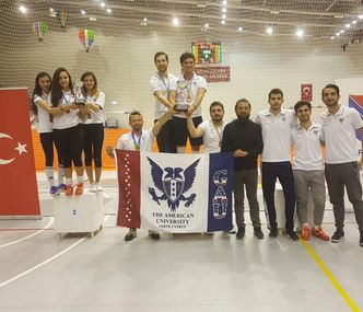 GAU IS THE CHAMPION OF TURKEY IN FENCING