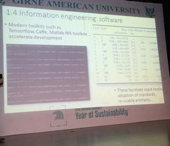 First Keynote Speaker Prof. Dr. James Orwell gave his speech at ISEAIA 2019