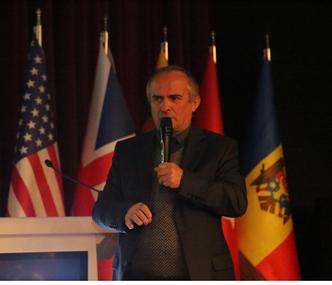 Second Keynote Speaker Assoc. Prof. Dr. Adnan Acan gave his speech at ISEAIA 2019