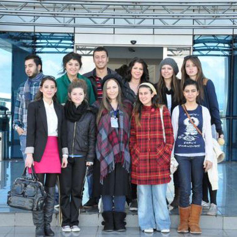 GAÜ İletişim Fakültesi Öğrencileri Sokak Röportajında