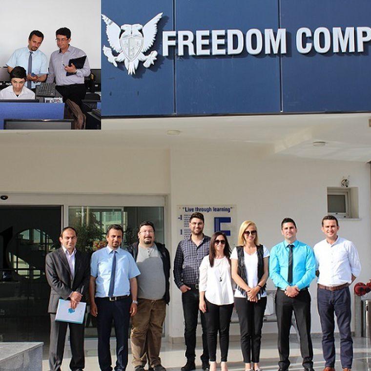 KKTC Milli Eğitim Bakanlığı Bilişim Dalı Beceri Yarışması GAU de yapıldı