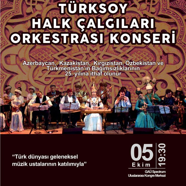 Türksoy Halk Çalgıları Orkestrası Konseri