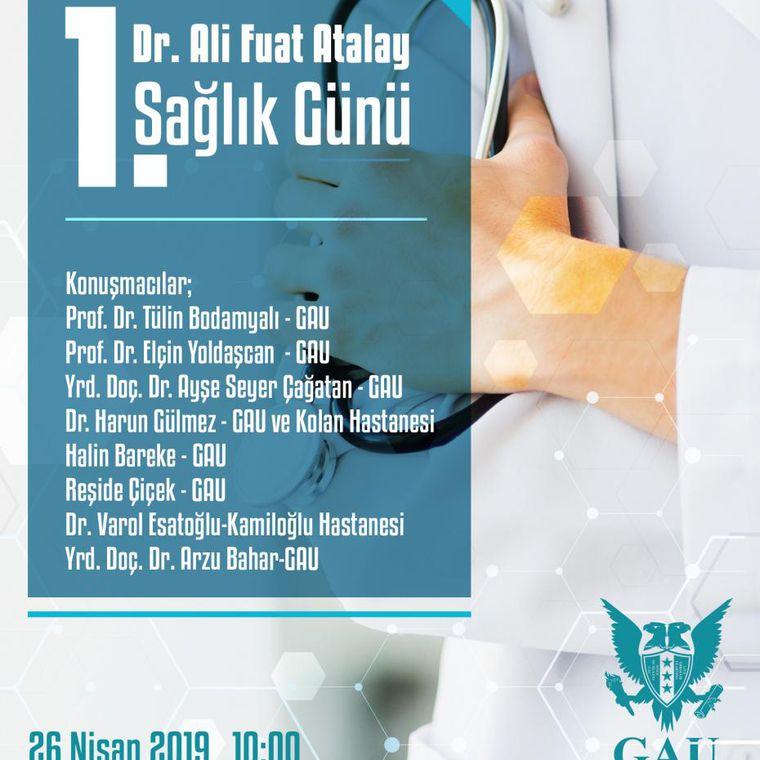 1. DR. ALİ FUAT ATALAY SAĞLIK GÜNÜ