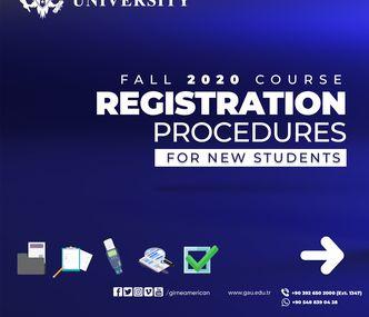 2020 Yeni Kayıtlı Öğrencilerimiz için Ders Kayıt Adımları
